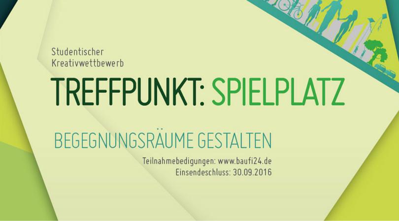 """Kreativwettbewerb """"Treffpunkt Spielplatz""""."""